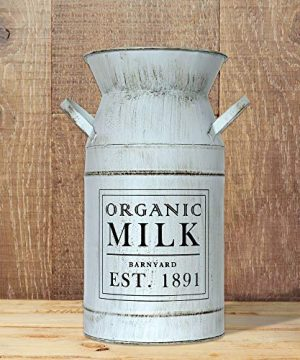 Barnyard Designs Decorative Milk Can Rustic Primitive French Country Home Decor 11 X 6 0 0 300x360