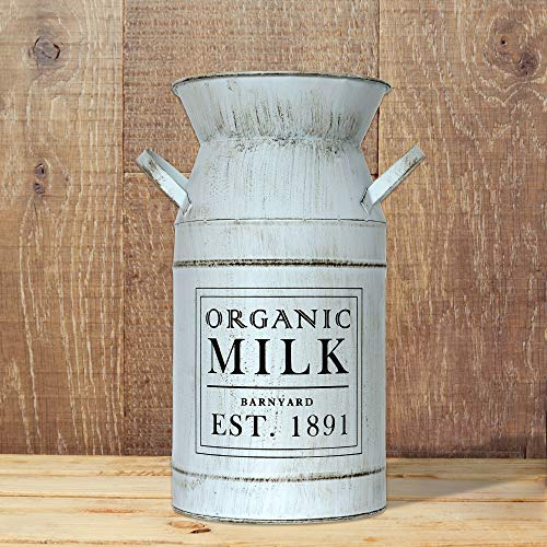 Barnyard Designs Decorative Milk Can Rustic Primitive French Country Home Decor 11 X 6 0 0