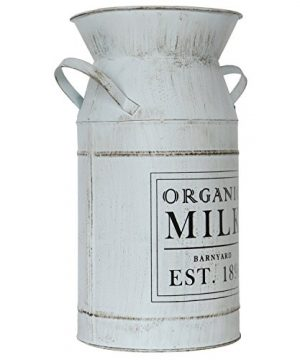 Barnyard Designs Decorative Milk Can Rustic Primitive French Country Home Decor 11 X 6 0 2 300x360