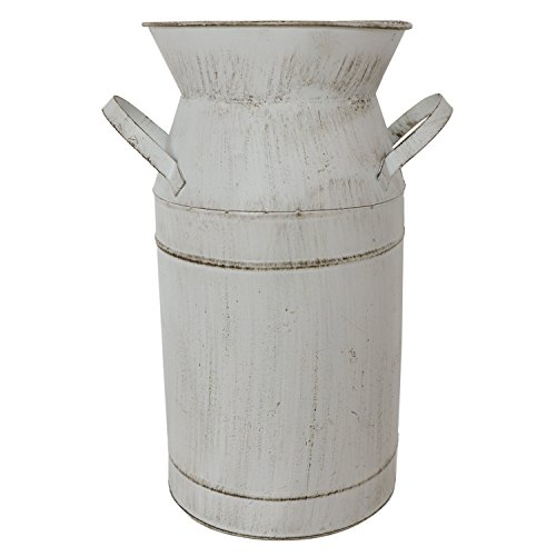 Barnyard Designs Decorative Milk Can Rustic Primitive French Country Home Decor 11 X 6 0 3