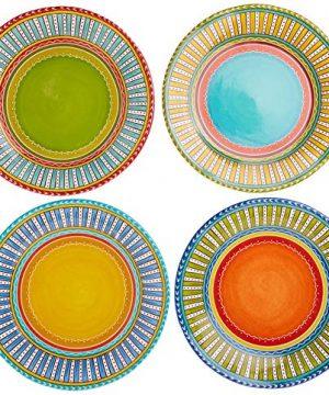 Certified International Valencia Dinner Plates Set Of 4 1125 Multicolor 0 0 300x360