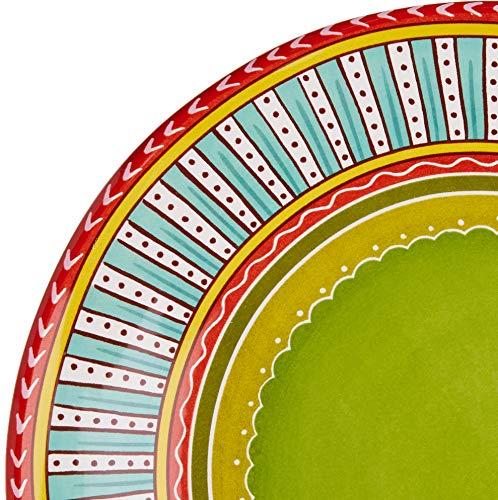 Certified International Valencia Dinner Plates Set Of 4 1125 Multicolor 0 3