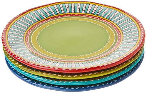 Certified International Valencia Dinner Plates Set Of 4 1125 Multicolor 0