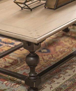 Collective Design Casual Colorado Rectangular Cocktail Grey Sand Finish Table 0 1 300x360