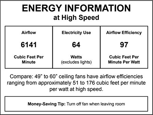 Craftmade MR56ESP4C1 Morrow Bay 56 Outdoor Ceiling Fan With 120 Watts Light Kit 4 ABS Blades Espresso 0 1