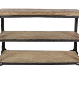 Deco 79 4834 Wood Console Table 48 X 34 BlackBrown 0 300x360