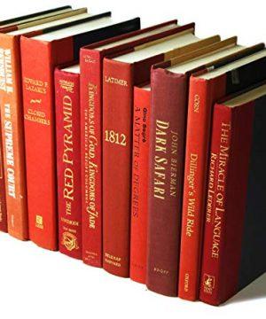 Decorative Books Authentic Decor Monochromatic Red 0 3 300x360