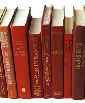 Decorative Books Authentic Decor Monochromatic Red 0 5 300x360