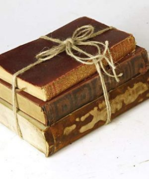 Decorative Books For Designers Red Vintage Ultra Distressed 0 0 300x360