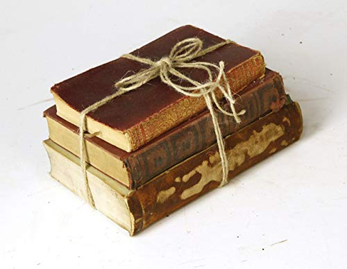 Decorative Books For Designers Red Vintage Ultra Distressed 0 0