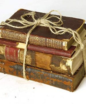 Decorative Books For Designers Red Vintage Ultra Distressed 0 1 300x360