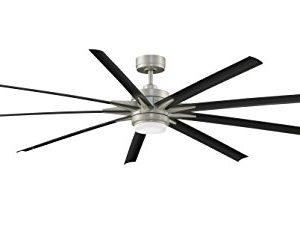 Fanimation FPD8159BNWBL Odyn Ceiling Fan With LED Light Kit 84 Brushed Nickel 0 300x231