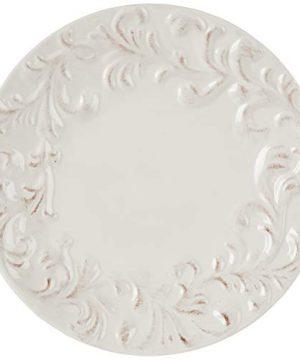 GG 11 D Acanthus Dinner Plate Other Decor 105InL X 11InW X 025InH Cream 0 0 300x360