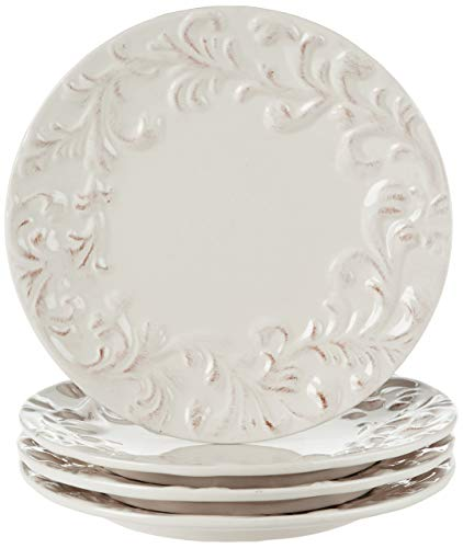 GG 11 D Acanthus Dinner Plate Other Decor 105InL X 11InW X 025InH Cream 0