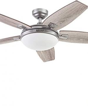 Honeywell Ceiling Fans 51627 01 Carmel Ceiling Fan 48 Pewter 0 300x360