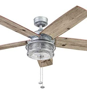 Honeywell Ceiling Fans 51632 01 Slade Ceiling Fan 52 Galvanized 0 300x333