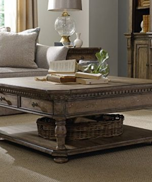 Hooker Furniture Sorella Rectangle Cocktail Coffee Table In Light Wood 0 300x360