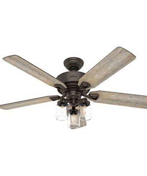 Hunter Fan Company 50235 Devon Park Ceiling Fan 52 Onyx Bengal Finish 0 300x360