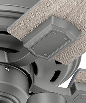Hunter Fan Company 50651 Hartland Ceiling Fan 52 Matte Silver 0 3 300x360