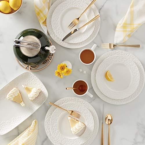 KATE SPADE Blossom Lane 4 Piece Dinner Plate Set 715 LB White 0 1