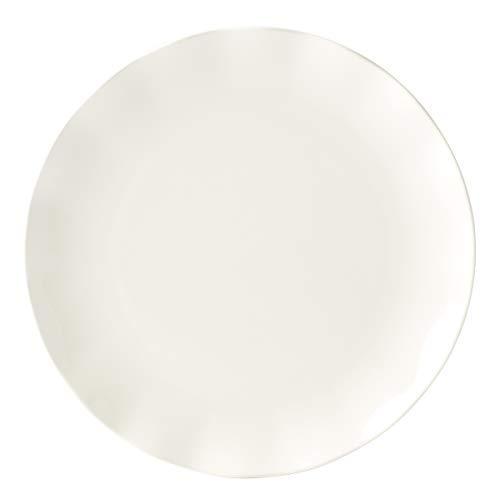 KATE SPADE Petal Lane Ruffle Dinner Plate 140 LB White 0