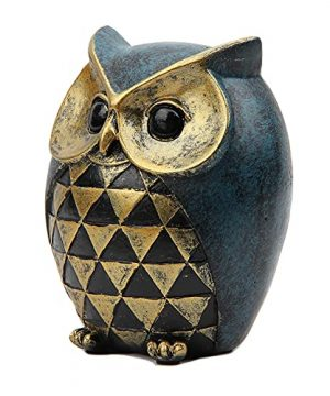 Leekung Owl Statue Home DecorOwl Figurines For Bookshelf Bedroom Living Room Office TV Stand DecorationsOwl Decor Animal Sculptures Gift For Birds Lovers 0 1 300x360