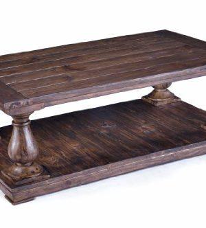 Magnussen Densbury Natural Pine Finish Wood Rectangular Cocktail Table 0 300x332