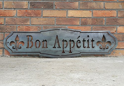 Maker Table French Country Bon Appetit Sign 0 1