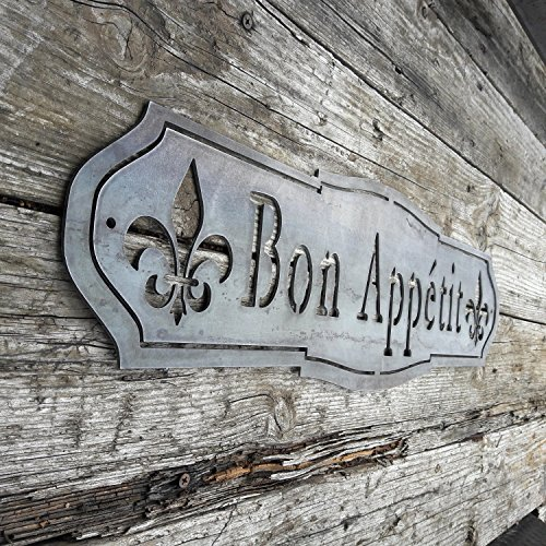 Maker Table French Country Bon Appetit Sign 0 2