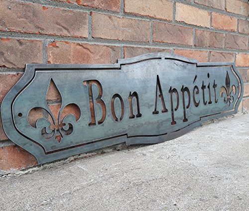 Maker Table French Country Bon Appetit Sign 0