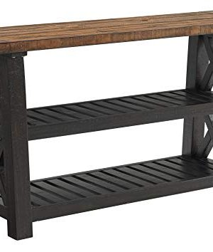 Martin Svensson Home Sofa Console Table Black Stain And Natural 0 300x354