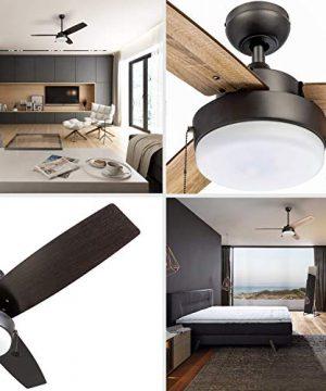 Prominence Home 51018 Statham Modern Farmhouse Ceiling Fan 52 Espresso 0 0 300x360