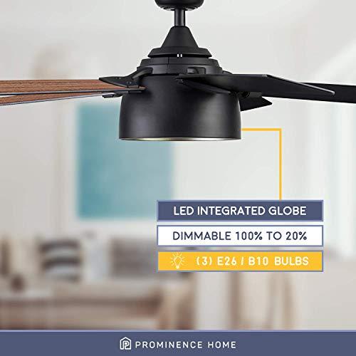 Prominence Home 51479 01 Octavia Ceiling Fan 52 Matte Black 0 1