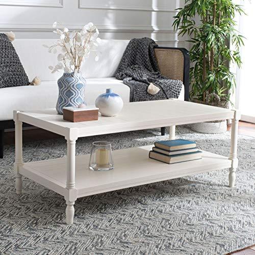 Safavieh American Homes Collection Bela Grey Coffee Table 0