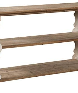 Signature Design By Ashley Alwyndale Console Sofa Table Casual Antique WhiteBrown 0 300x358