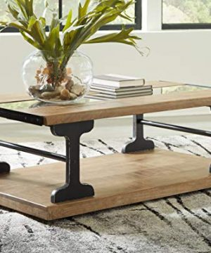 Signature Design By Ashley Calkosa Cocktail Table With Shelf Brown 0 0 300x360