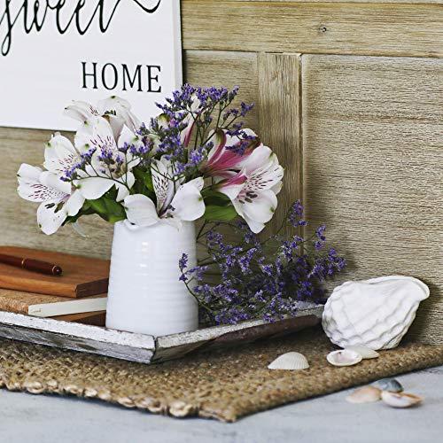 Small Vase 43 Inch With Heart Shape Opening Ceramic Vase Decor For Shelves Petite Decorative Flower Vase Makeup Brush Organizer Creamer Pitcher Or Pen Holder 0 2