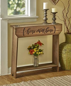 The Lakeside Collection Country Farmhouse Sentimental Message Console Table Home Sweet Home 0 300x360
