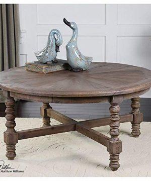Uttermost Samuelle Wooden Coffee Table Brown 0 0 300x360