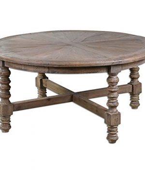 Uttermost Samuelle Wooden Coffee Table Brown 0 300x360