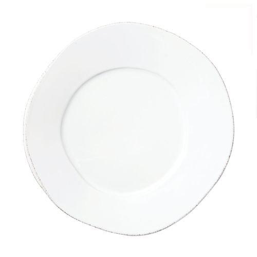 Vietri Lastra White European Dinner Plate 0