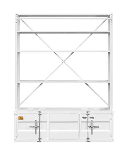 ACME Cargo Bookshelf Ladder White 0 0