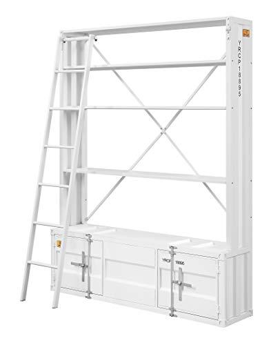 ACME Cargo Bookshelf Ladder White 0