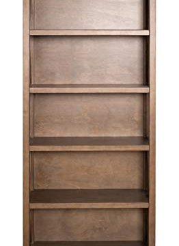 Amazon Brand Stone Beam 5 Shelf Bookcase 75H Weathered Oak Finish 0 0 262x360