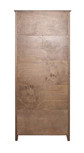 Amazon Brand Stone Beam 5 Shelf Bookcase 75H Weathered Oak Finish 0 2