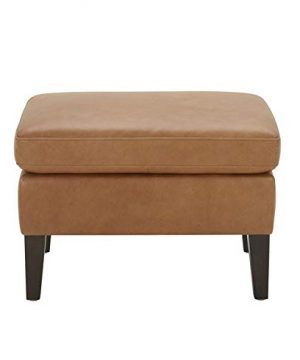 Amazon Brand Stone Beam Wingard Leather Ottoman 264W Cognac 0 0 300x360