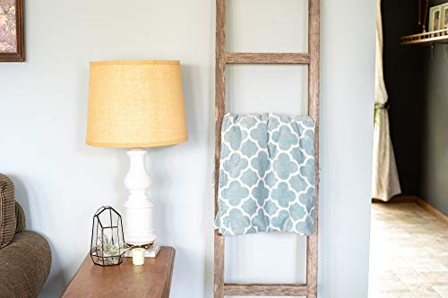 BarnwoodUSA Rustic Farmhouse Decorative Ladder Our 4 Ft Ladder Can Be Mounted Horizontally Or Vertically And Is Crafted From 100 Recycled And Reclaimed Wood No Assembly Required White Wash 0 1