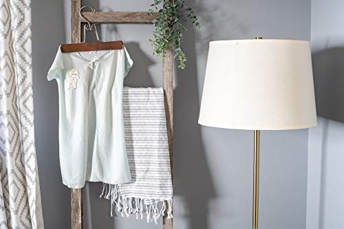 BarnwoodUSA Rustic Farmhouse Decorative Ladder Our 4 Ft Ladder Can Be Mounted Horizontally Or Vertically And Is Crafted From 100 Recycled And Reclaimed Wood No Assembly Required White Wash 0 3