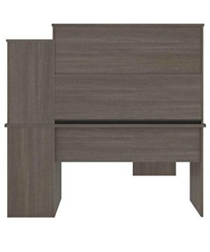 Bestar Dayton Collection Executive Office L Shaped Desk With Pedestal And Hutch 0 4 300x360