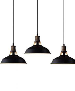 CLAXY Ecopower Industrial Metal Barn Pendant Light 3 Pack 0 300x360